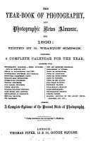 The Year book of Photography and Photographic News Almanac for     PDF