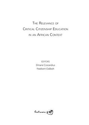 The Relevance of Critical Citizenship Education in an African Context