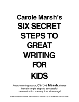 Six Secret Steps to Great Writing for Kids PDF