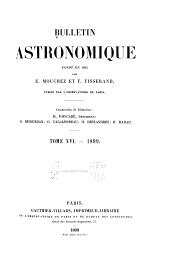 Bulletin astronomique: Volume 16