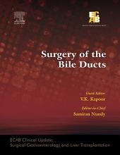 ECAB Surgery of the Bile Ducts - E-Book