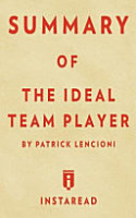 Summary of the Ideal Team Player PDF