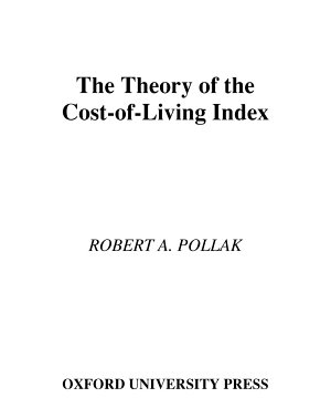 The Theory of the Cost-of-Living Index