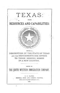 Texas  Her Resources and Capabilities PDF