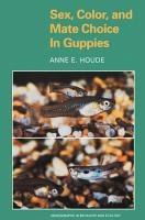 Sex  Color  and Mate Choice in Guppies PDF