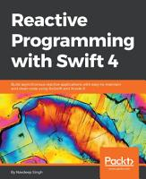 Reactive Programming with Swift 4 PDF