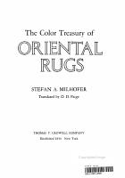 The Color Treasury of Oriental Rugs PDF