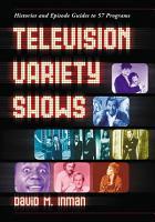 Television Variety Shows PDF