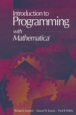 Introduction to Programming with Mathematica®