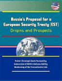 Russia s Proposal for a European Security Treaty  EST  PDF