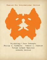 Psychology  Pearson New International Edition PDF