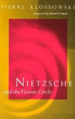 Nietzsche and the Vicious Circle