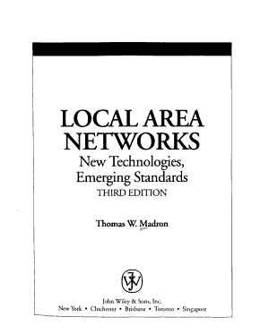 Local Area Networks PDF
