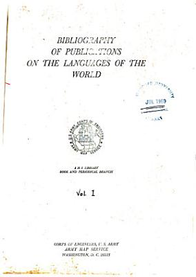 Bibliography of Publications on the Languages of the World  Europe and USSR