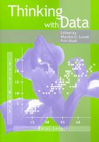Thinking with Data PDF