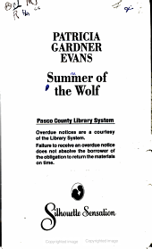 Summer of the Wolf PDF