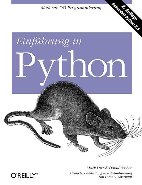 Einf  hrung in Python PDF