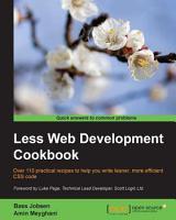 Less Web Development Cookbook PDF