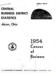 United States Census of Business: 1954