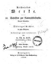 Aristoteles Werke    Stuttgart   Metzler    v    15 cm PDF