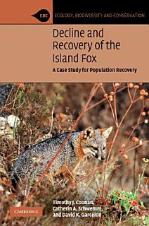 Decline and Recovery of the Island Fox Book