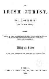 The Irish Jurist: Volume 10