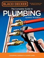 Black   Decker The Complete Guide to Plumbing 7th Edition PDF
