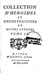 Collection d'Héroïdes et pièces fugitives de divers auteurs