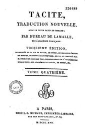Tacite: traduction nouvelle avec le texte latin en regard