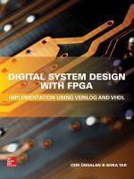 Digital System Design with FPGA  Implementation Using Verilog and VHDL PDF