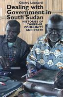 Dealing with Government in South Sudan PDF