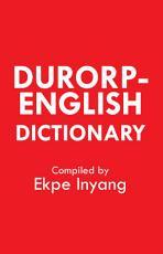 Durorp English Dictionary PDF