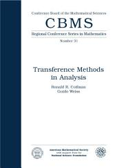 Transference Methods in Analysis: Issue 31
