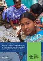 Resilient livelihoods and food security in coastal aquatic agricultural systems PDF
