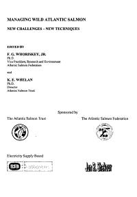Managing Wild Atlantic Salmon PDF