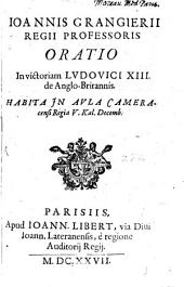 Oratio in victoriam Ludovici XIII. de Anglo-Britannis