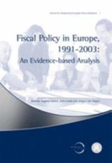 Fiscal Policy in Europe  1991 2003 PDF