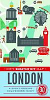 City Scratch Off Map  London PDF