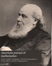 American Journal of Mathematics: Volume 10