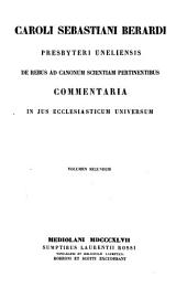 Caroli Sebastiani Berardi