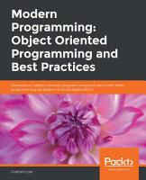 Modern Programming  Object Oriented Programming and Best Practices PDF
