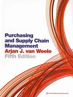 Purchasing and Supply Chain Management PDF