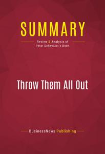 Summary  Throw Them All Out Book