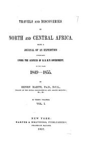 Travels and Discoveries in North and Central Africa PDF