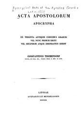 Acta apostolorum apocrypha