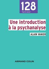 Une introduction à la psychanalyse