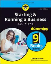 Starting and Running a Business All-in-One For Dummies: Edition 3