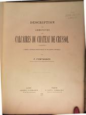 Description de ammonites des calcaires du château de Crussol, Ardèche (zones à Oppelia tenuilobata et Waagnia beckeri)