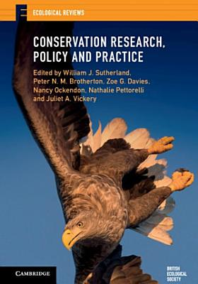 Conservation Research  Policy and Practice PDF