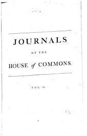 Journals of the House of Commons: Volume 36